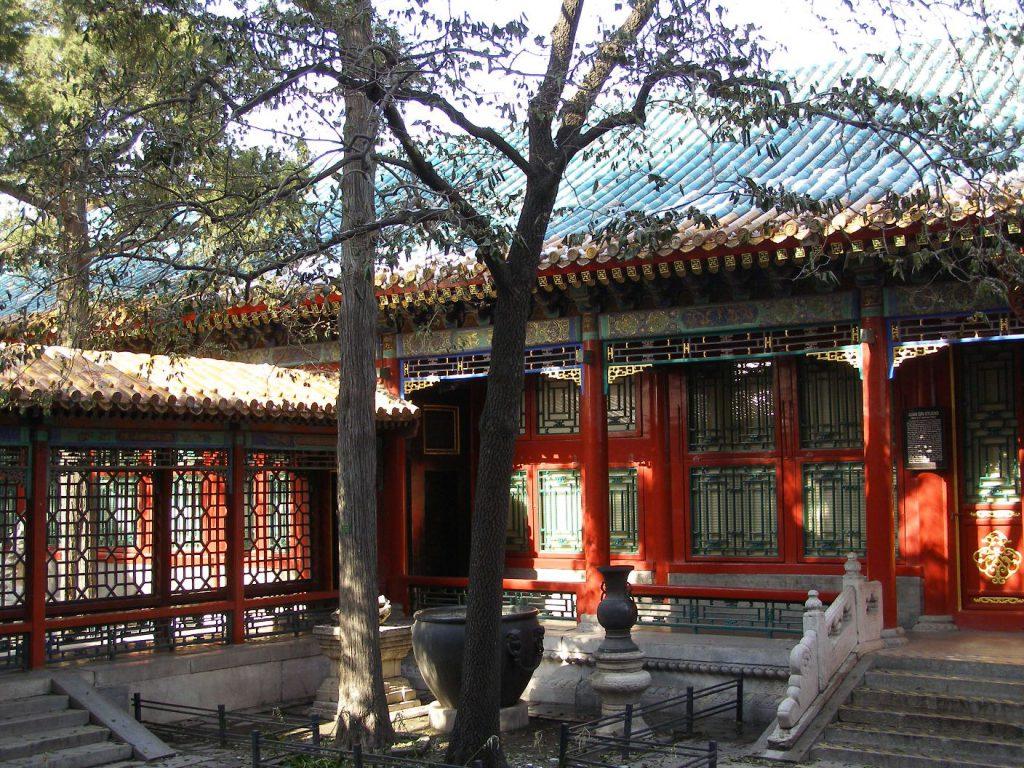 Der Garten des Kaisers Qianlong