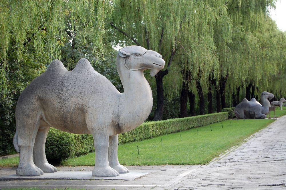 Seelenweg bei den Ming-Gräbern