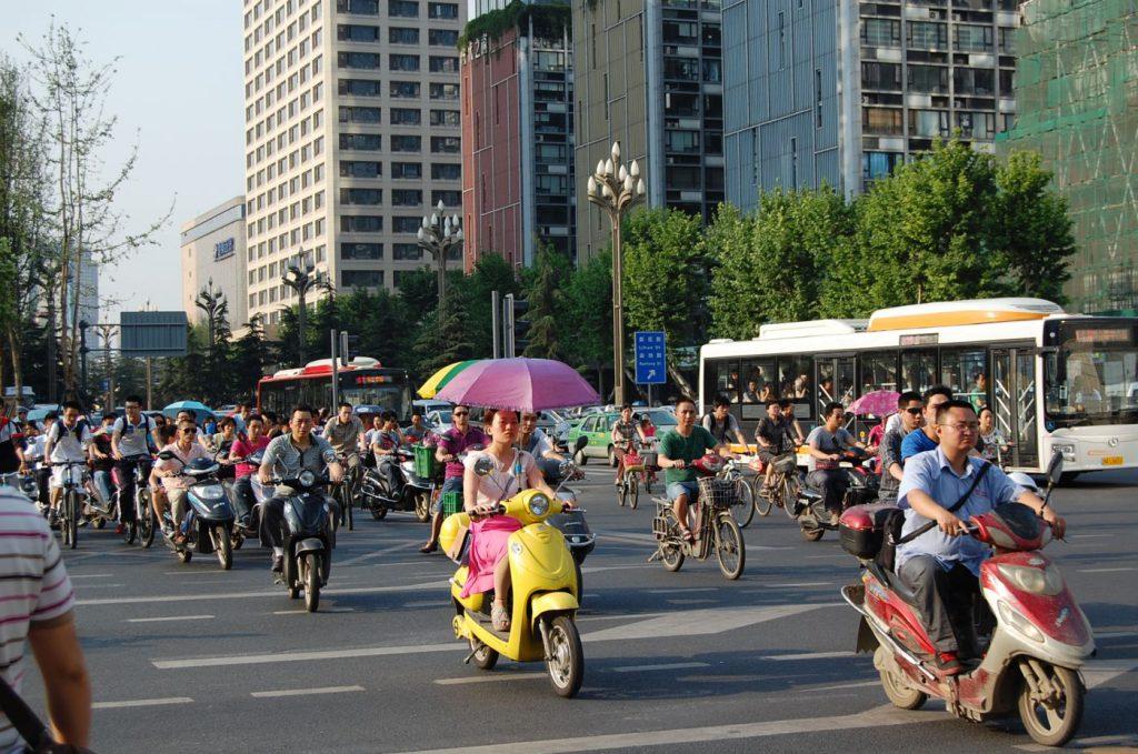 Verkehr in Chengdu