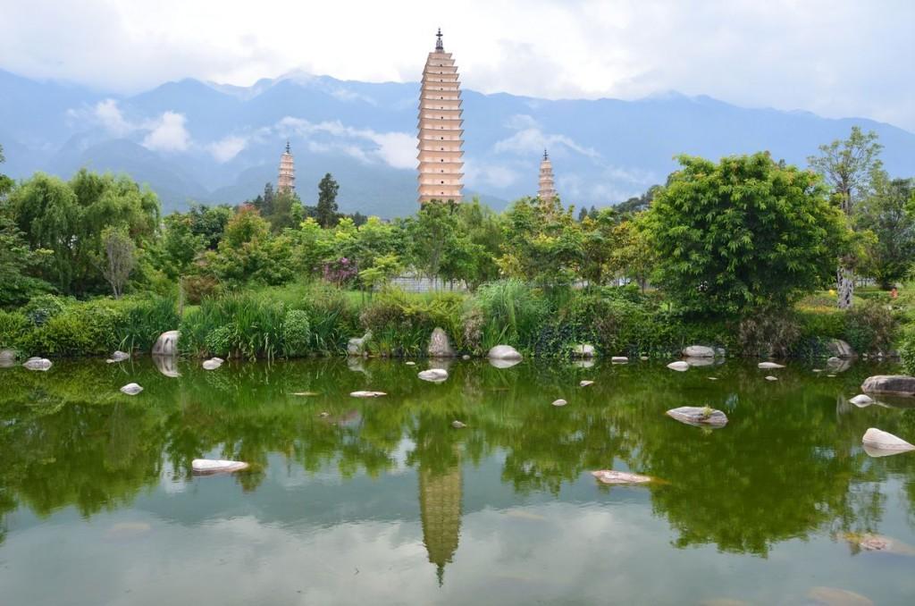 Dali Yunnan und die Drei Pagoden