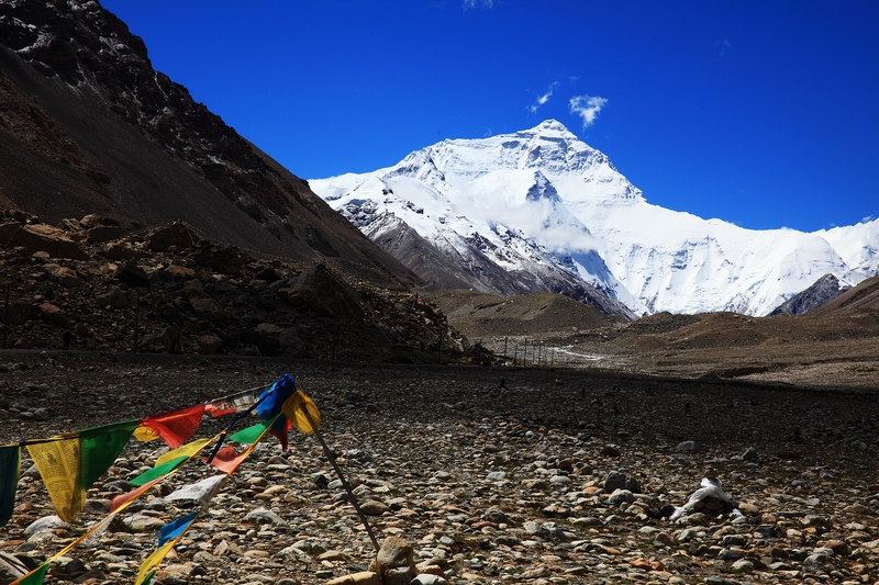 Everest, Tibet, Everest Base Camp