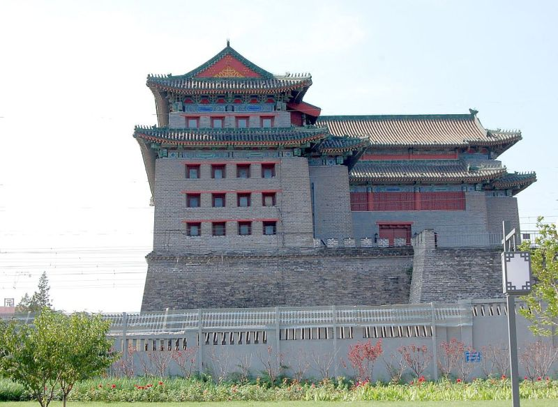 Peking Stadtrundfahrt Stadtmauerpark