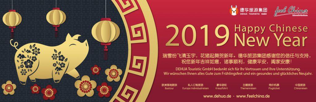 Am 05.02. beginnt das chinesische Jahr des Schweines
