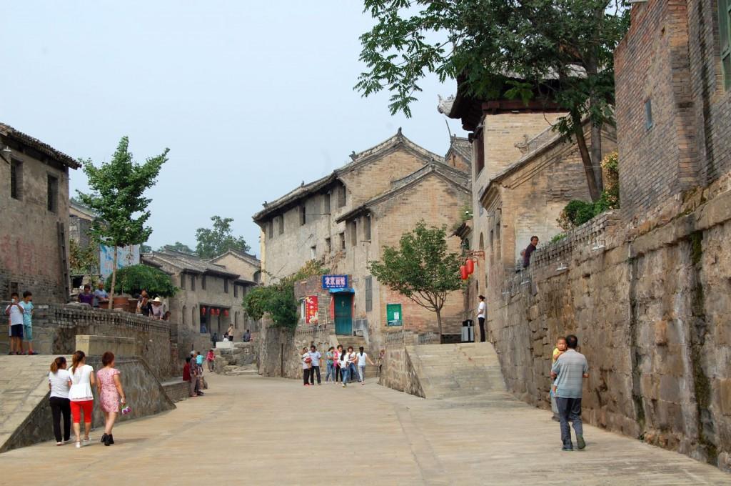 Guoyu ein befestigtes Dorf in der Provinz Shanxi