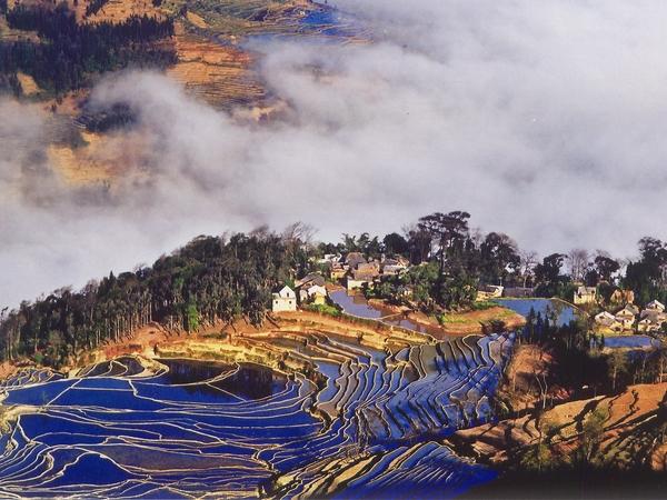 Reisterrassen von Yuanyang